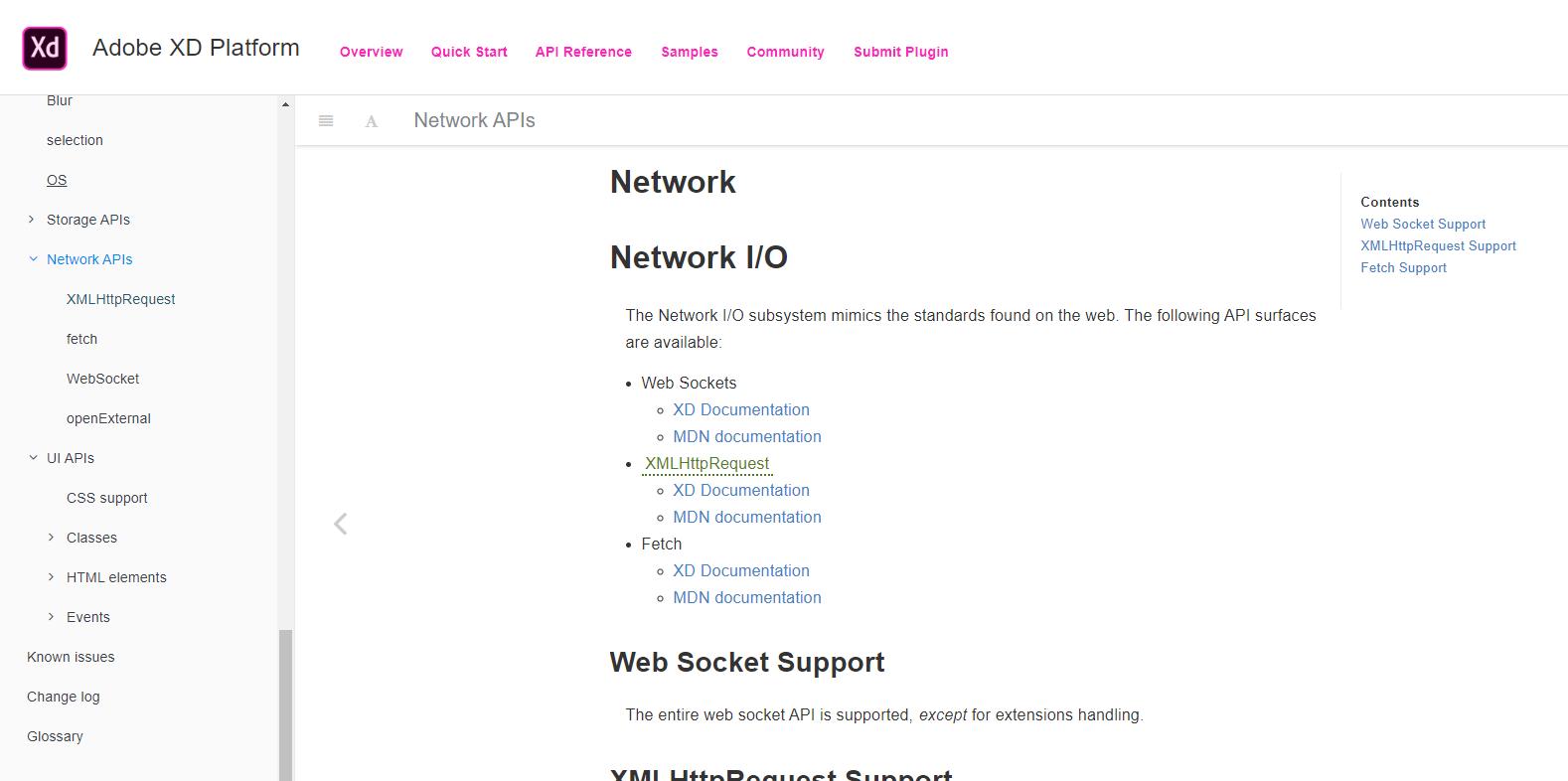 Adobe XDでプラグイン機能から外部ネットワークアクセス